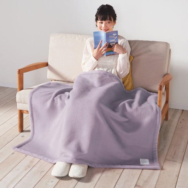 シルクのような光沢となめらかさ プレミアムベビーアルパカ毛布 ハーフケット 725432