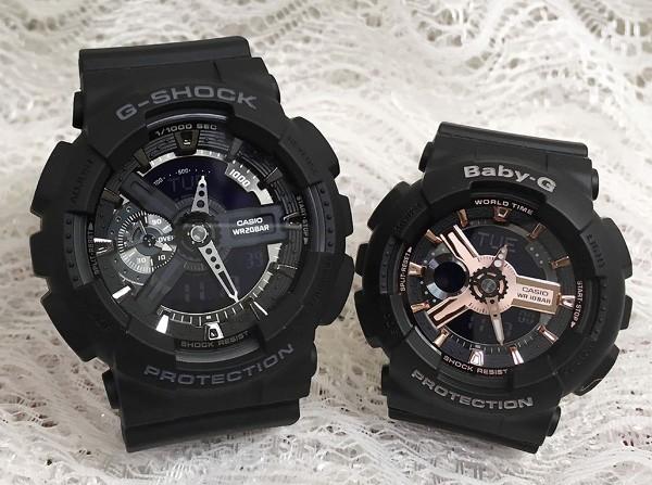 G-SHOCK BABY-G ペアウォッチ  カシオ 2本セット ...