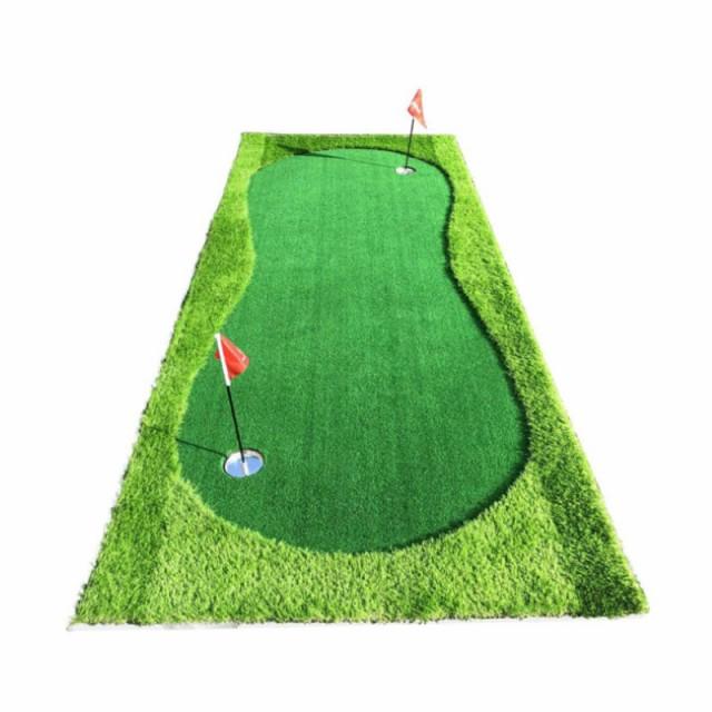 人工芝 2way パターゴルフマット No.SL1235-gm12-...