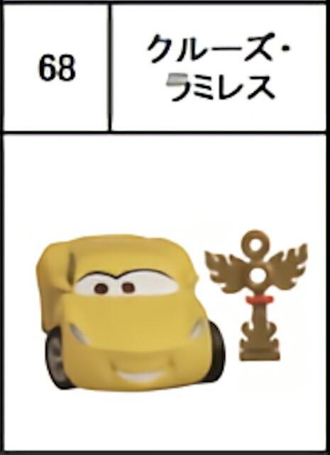 【68.クルーズ・ラミレス】 チョコエッグ ピクサ...
