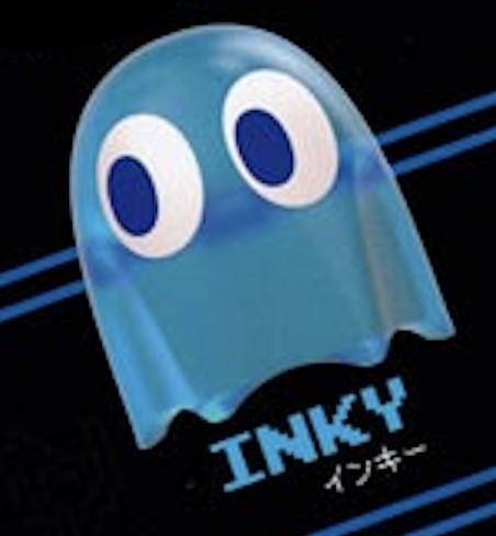 【INKY(インキー)】 パックマン ケーブルマスコッ...