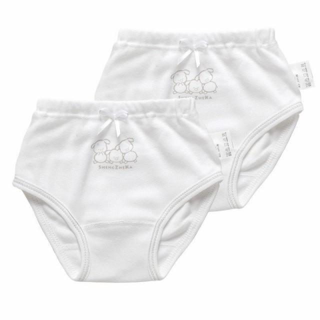 2枚セット 女の子用パンツ ショーツ パンティ イ...