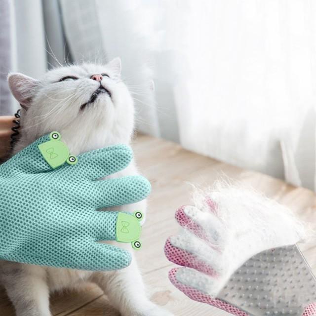 グルーミンググローブ 猫用 犬用 ペット用品 被毛...