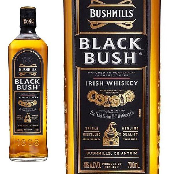 ブッシュミルズ ブラックブッシュ 700ml 40度 アイリッシュウィスキー