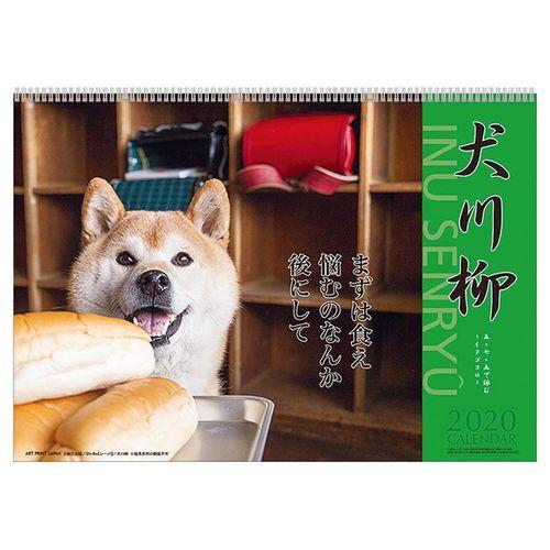犬川柳 カレンダー 2020 年 壁掛け スケジュール ...