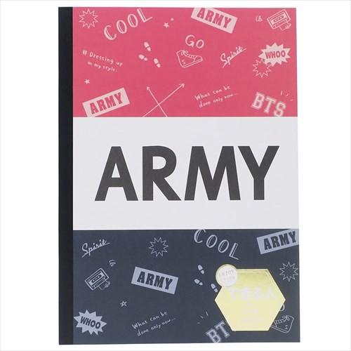 JOIN THE ARMY 横罫ノート B5できる人の学習ノー...