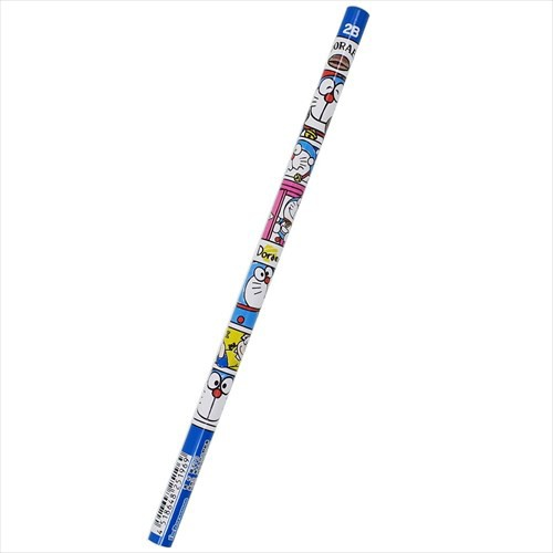 ドラえもん 鉛筆 丸軸えんぴつ2B ブロック サンリ...