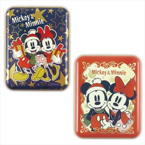 ミッキー&ミニー クリスマス お菓子 角缶inソフ...