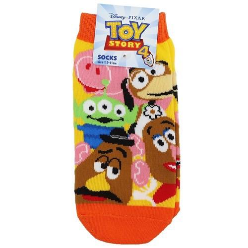 トイストーリー 4 子供用 靴下 ジュニア ソックス...