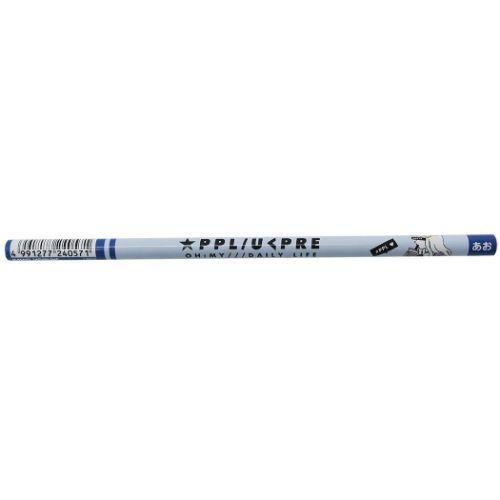 色鉛筆 LIKEオルチャン 青 えんぴつ 新学期準備雑...