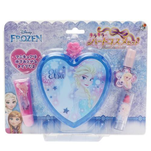 アナと雪の女王 キッズコスメセット キラキラ ハート メイクセット エルサ ディズニー 化粧用品 キャラクター グッズ