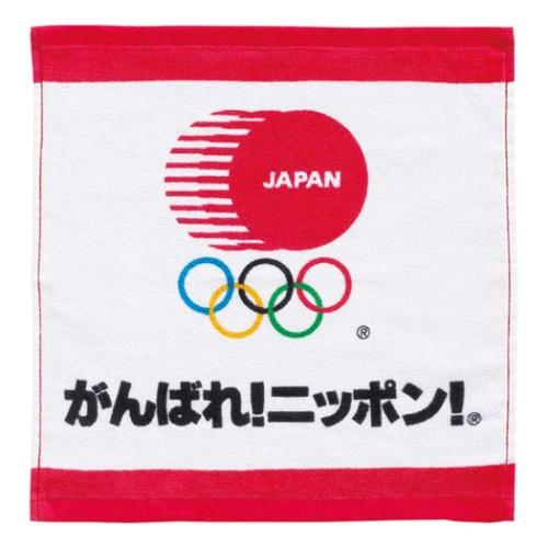 東京2020 オリンピック ハンドタオル プリント ウ...