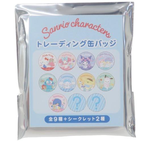 サンリオキャラクターズ 缶バッジ トレーディング...