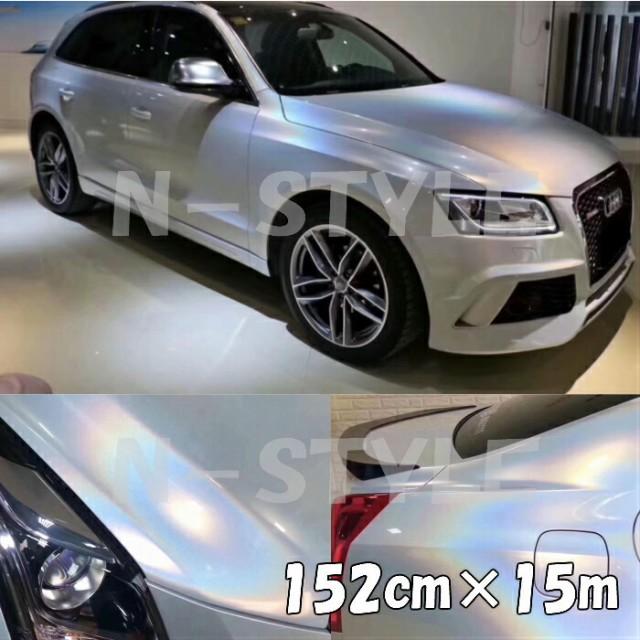 ダイヤモンドレーザー 152cm×15mホワイト カ...
