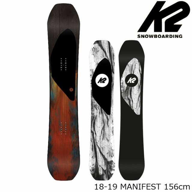 【特典あり】ケーツー スノーボード 板 18-19 K2 MANIFEST 156 マニフェスト 日本正規品
