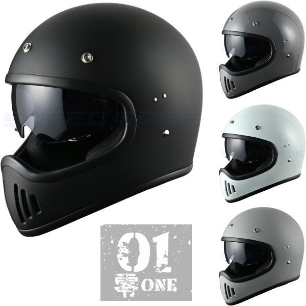 零ONE モタードヘルメット インナーシールド標準...