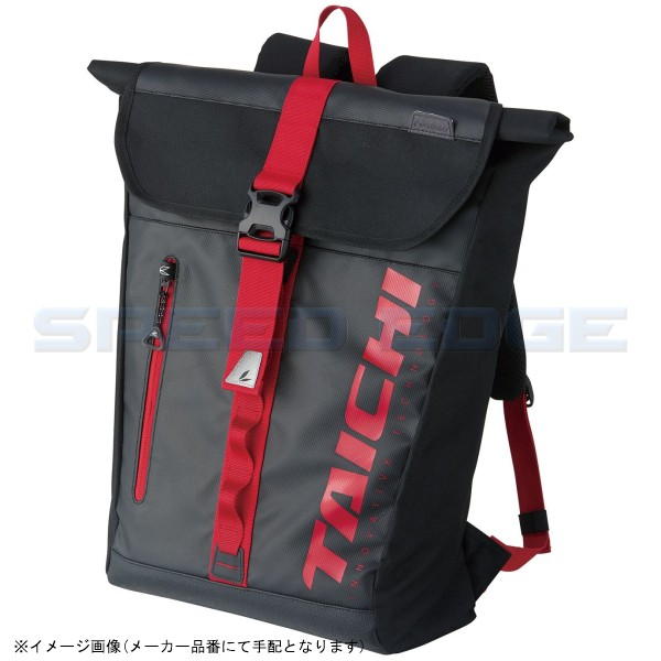 RSタイチ WP バックパック BLACK/RED 25L [RSB278...