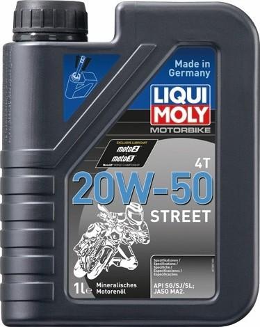 LIQUIMOLY(リキモリ) Motorbike 4T 20W-50 Street...
