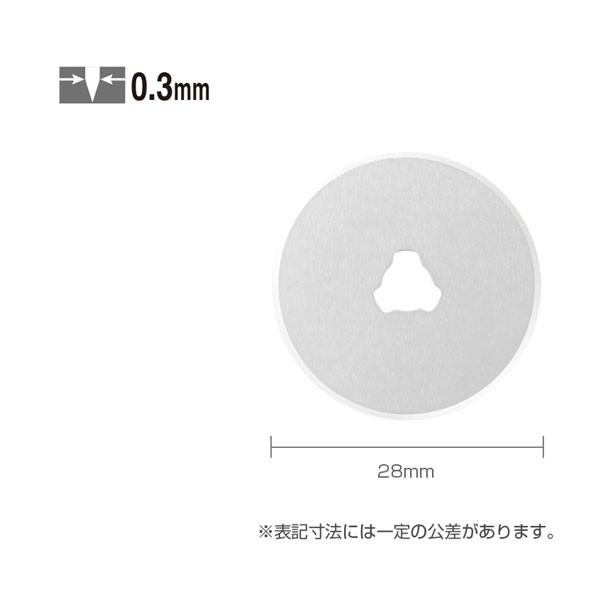 【メール便対応】オルファ 円形刃28ミリ替刃 10...