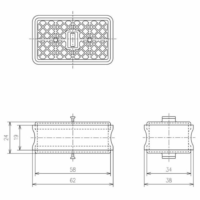 TOTO 触媒組品 【品番:TCA83-9R】