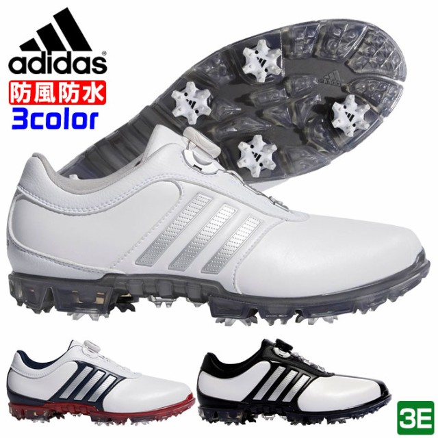 アディダス adidas ゴルフシューズ メンズ ピュア...