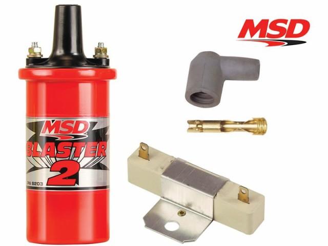 MSD ブラスター2 イグニッションコイル 8203 (バ...