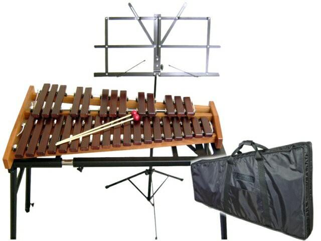 コオロギ シロフォン 高級卓奏用木琴 ECO32:ソ...