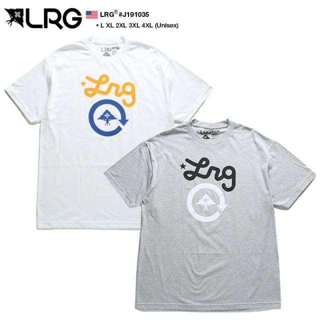 エルアールジー LRG Tシャツ 半袖 定番ロゴ メン...