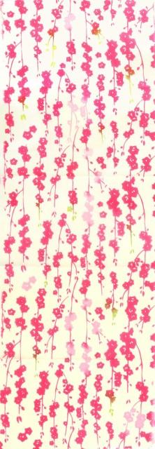 手ぬぐい 桃の花 注染 てぬぐい 日本製 綿 タペス...