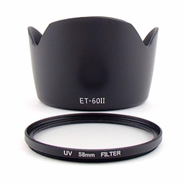 Canon キャノン レンズフード ET-60 (II)互換品&...