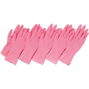 コモライフ 左右兼用 薄型 家庭用ゴム手袋 10...