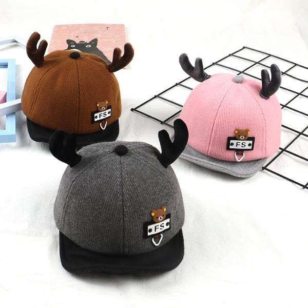 7e296b01c2c13 秋新作帽子子供用帽子 とんがり帽子 ニット帽 キッズ 帽子 子供用帽子 ...