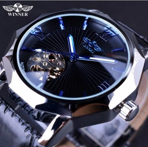 スケルトンダイヤル メンズ腕時計 海外トップブラ...