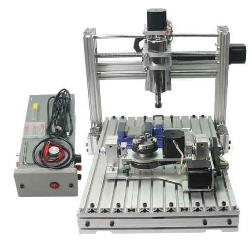 CNC3040 5軸 フライス ルーター DIY USBポート E...