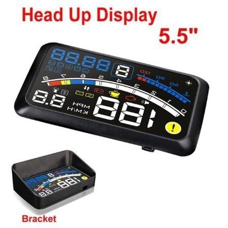 スピードメーター ベッドアップディスプレイ HUD ...