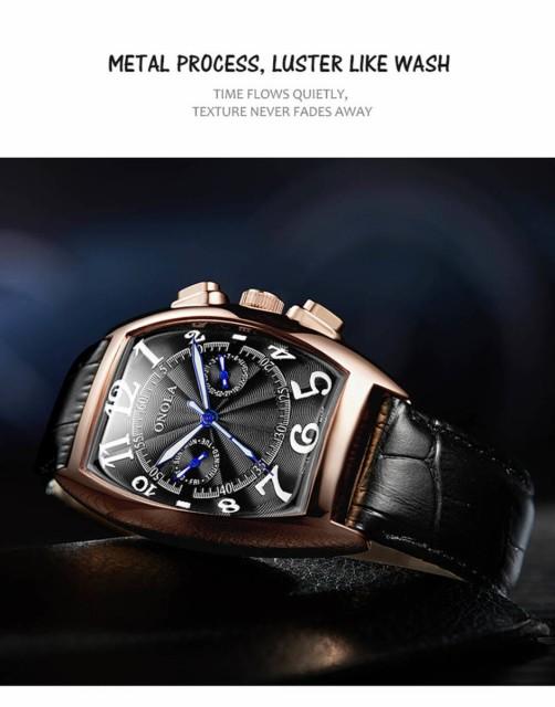 【ONOLA】 最新モデル 腕時計 Automatic Mechanic...