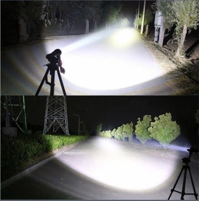 超強力 軍事用 LED タクティカルライト 懐中電灯 ...