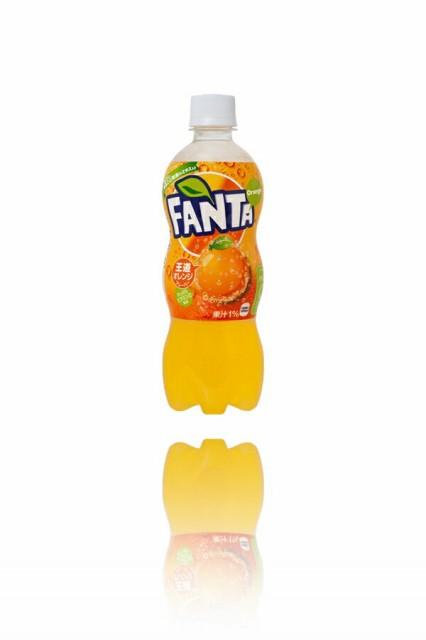 ファンタオレンジ Fanta ORANGE 500mlペットボト...