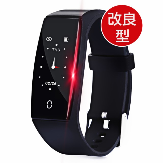 【2019年3月最新版】精確な血圧心拍計 防水 腕時計 line スマートウォッチ 歩数計 睡眠検測 日本語説明書 iPhone Android