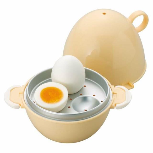 楽楽レンジ ゆでたまご 30713 ゆで卵 ゆで玉子 メーカー ゆで卵 メイカー レンジ 電子レンジ 調