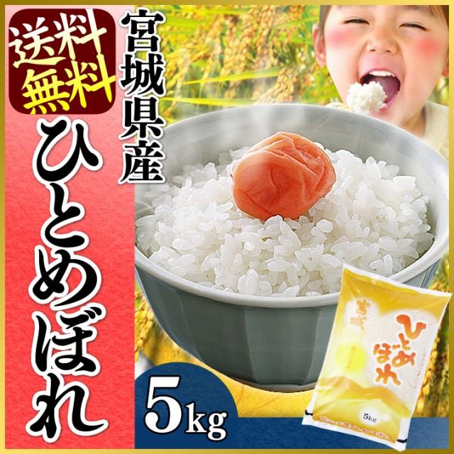 ひとめぼれ 5kg 宮城県産ひとめぼれ 5kg  一等米1...