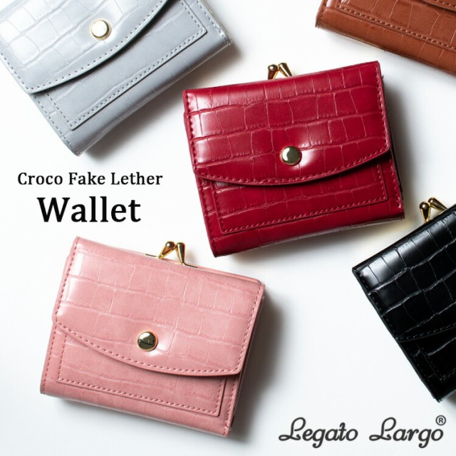 Legato Largo 財布 レディース 二つ折り ウォレッ...
