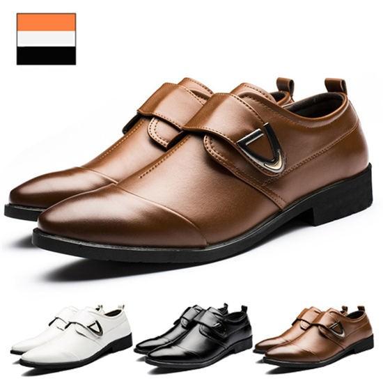 ビジネスシューズ メンズ 革靴 大きいサイズ 幅広...