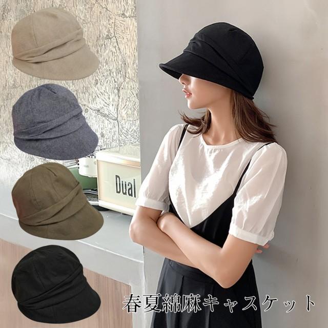 新品入荷帽子 レディース UV 大きいサイズ フルー...