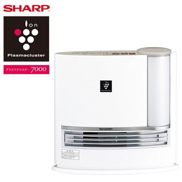 加湿セラミックヒーター SHARP HX-J120-C オーク...