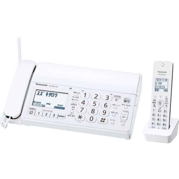 PANASONIC KX-PD215DL-W おたっくす ホワイト [デ...