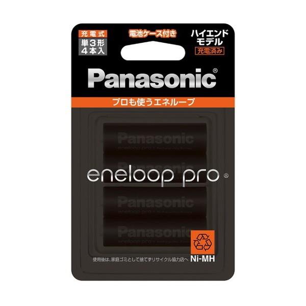 PANASONIC BK-3HCD/4C eneloop pro [単3形ニッケ...