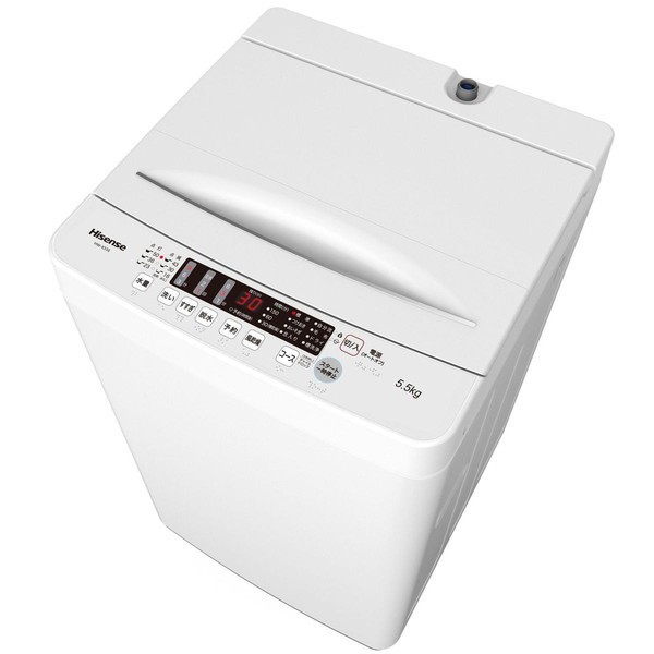 Hisense HW-K55E [簡易乾燥機能付洗濯機 (5.5kg)]...