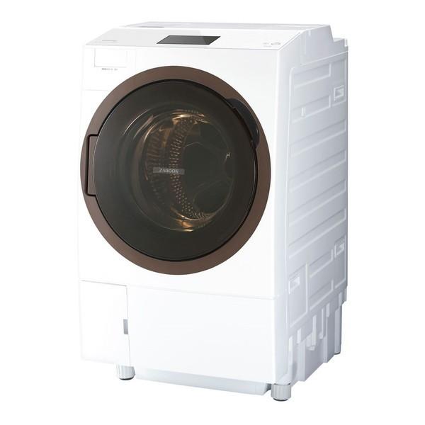 東芝 TW-127X8L(W) グランホワイト ZABOON [ななめ型ドラム式洗濯乾燥機 (洗濯12.0kg/乾燥7.0kg) 左開き]