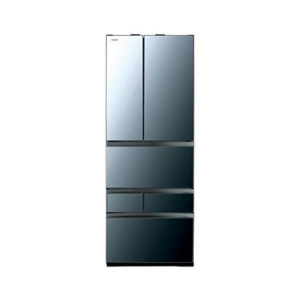 東芝 GR-R600FZ(XK) クリアミラー VEGETA [冷蔵庫(601L・フレンチドア)]